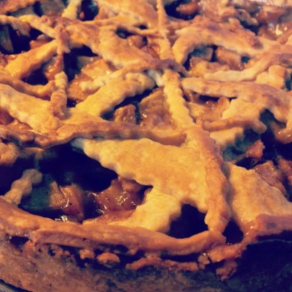 Trapple pie