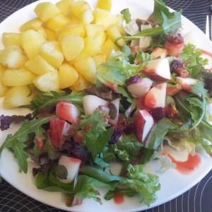 Autumn Salad with Potatoes